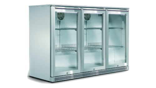 307L Triple Door Alfresco Bar Fridge