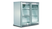 190L Double Door Alfresco Bar Fridge