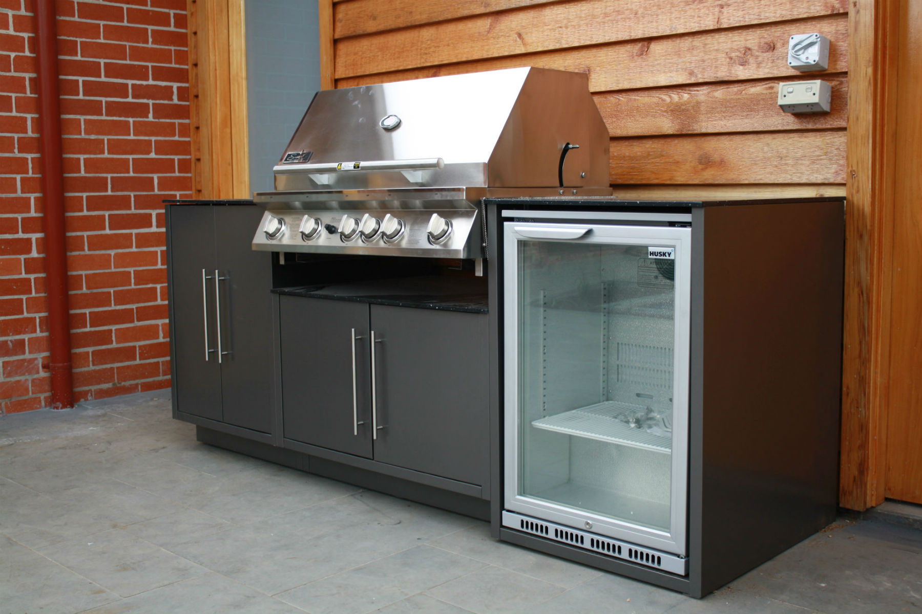 Outdoor Kitchens Ascotvale I Custom Designed Alfresco Kitchens Melbourne